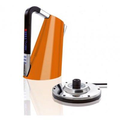 Casa Bugatti - Bouilloire pour cuisine Vera - Couleur orange
