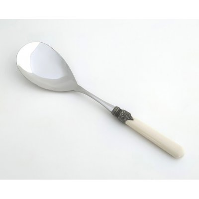 Rice Spoon - Classic - Rivadossi Sandro Cutlery - ivory