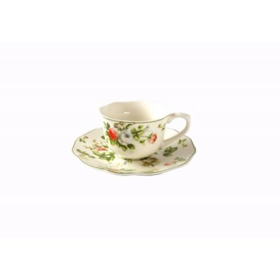 Coffee Set 6 Pieces English Style - New Spring Rose Collection - Royal Family Sheffield