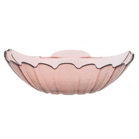 Svuota Tasche Shell Rosa Vetro Riciclato Cm Ø 32X10 Min 2   Glam