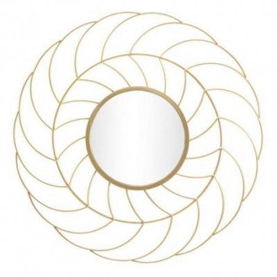 Specchio Sunflower Cm Ø 88X7 (Misura Specchio Cm Ø 33)  Glam