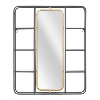 Specchio Con Mensole Industry Cm 62