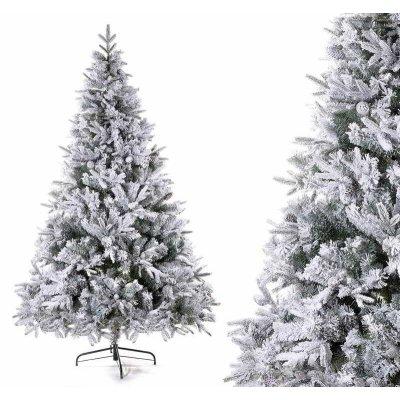 Albero di Natale Innevato - Canada - Effetto Realistico con Pigne