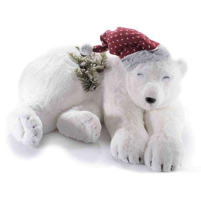 Orso Bianco - Decorazione Natalizia Scenografica