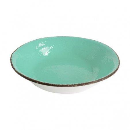 Ceramiche Made in Italy Arcucci - Piatto Fondo Set 6 Pz  verde tiffany