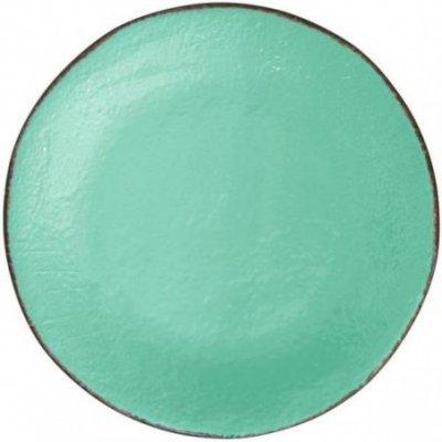 Ceramiche Made in Italy Arcucci - Vassoio Tondo verde tiffany