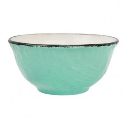 Ceramiche Made in Italy Arcucci - Coppetta Macedonia verde tiffany