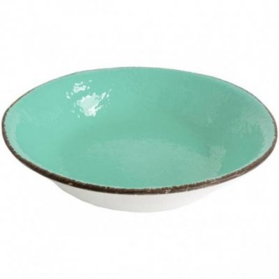 Ceramiche Made in Italy Arcucci - Risottiera verde tiffany