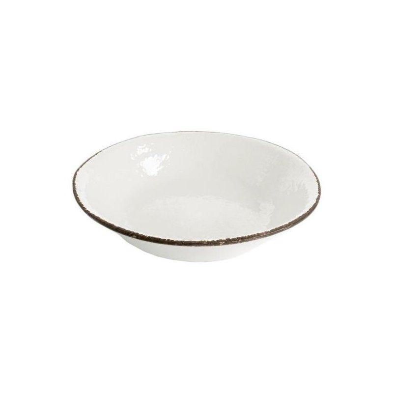 Ceramiche Made in Italy Arcucci - Piatto Fondo Bianco Latte
