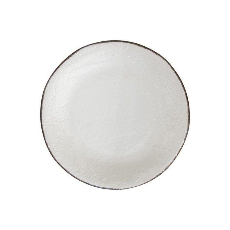Ceramiche Made in Italy Arcucci - Piatto Piano Bianco Latte