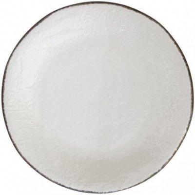 Ceramiche Made in Italy Arcucci - Vassoio Tondo Bianco Latte