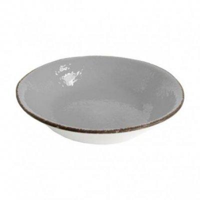 Ceramiche Made in Italy Arcucci - Piatto Fondo Grigio