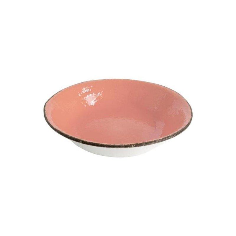 Ceramiche Made in Italy Arcucci - Piatto Fondo Rosa Cipria