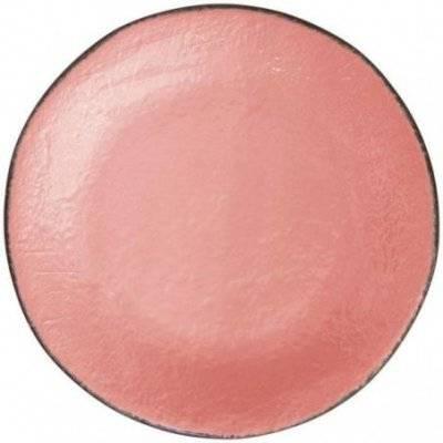 Ceramiche Made in Italy Arcucci - Vassoio Tondo Rosa Cipria