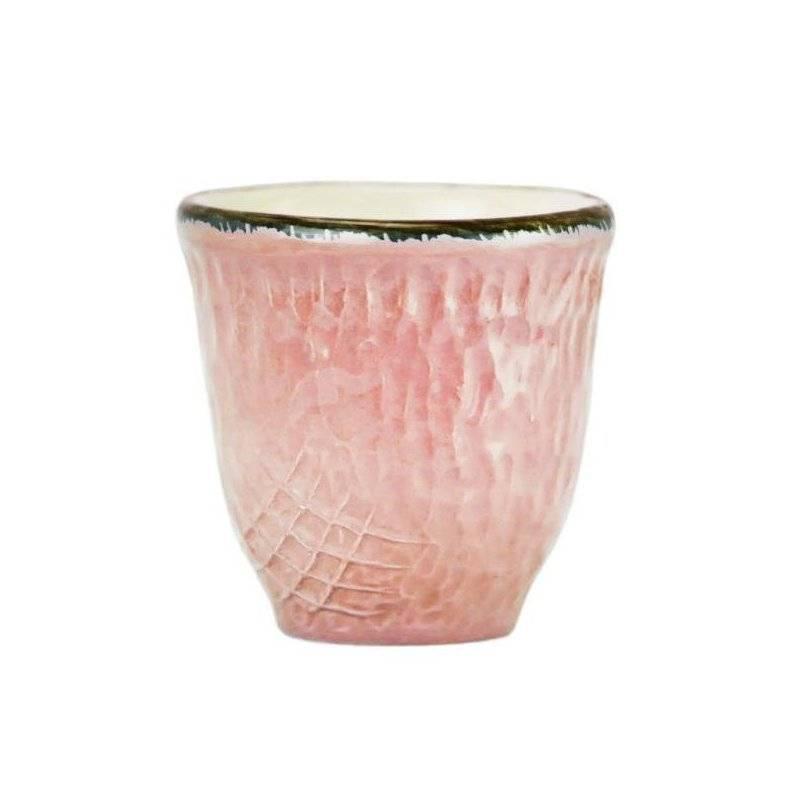 Ceramiche Made in Italy Arcucci - Pretino Caffè/Liquore Rosa Cipria