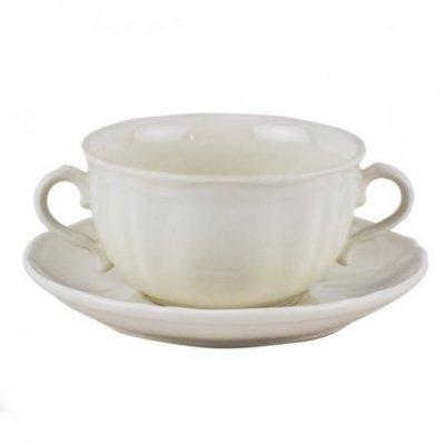Set 6 Pz Tazze Colazione e Piattino - porcellana    cl35