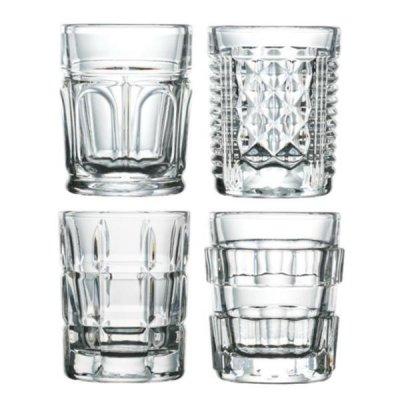 La Rochère - Set of 4 Shot After Shot Glasses