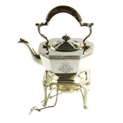 Royal Family - Teapot with Octagonal Samovar Warmer