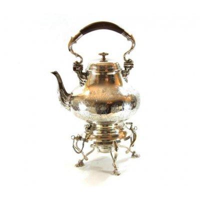 Teapot English Style - Sheffiled Silver - Royal Family Sheffield