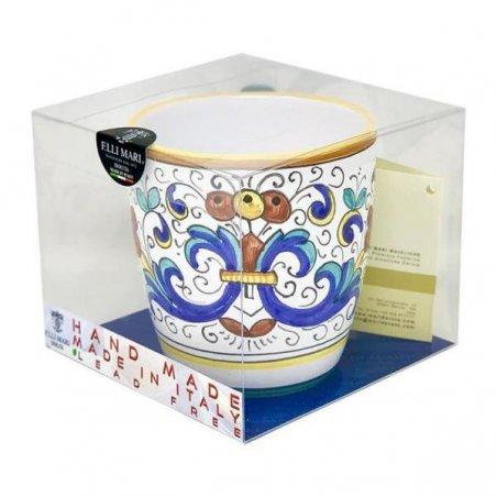 Tazza in Ceramica cm 10x14x10 - Decoro Ricco Deruta - 2 -