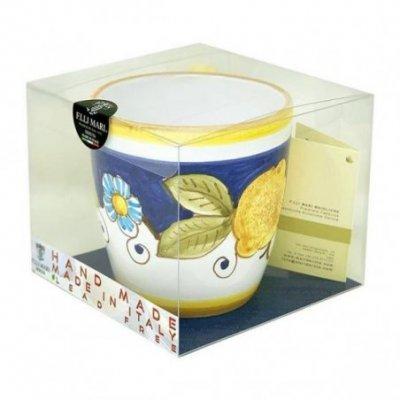 Tazza in Ceramica Deruta cm 10x14x10 - Decoro Positano - 5