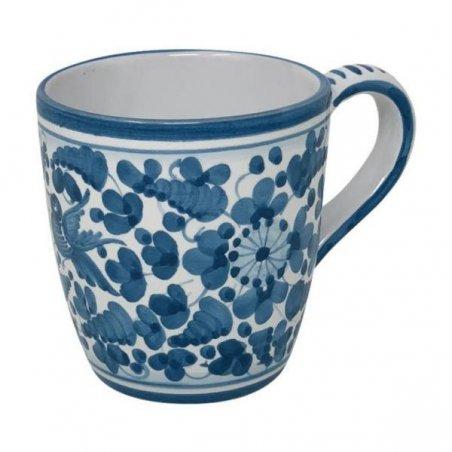 Tazza Ceramica Deruta - decoro Turchese