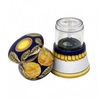Macina pepe  in Ceramica Deruta - Positano Blu - 3 -