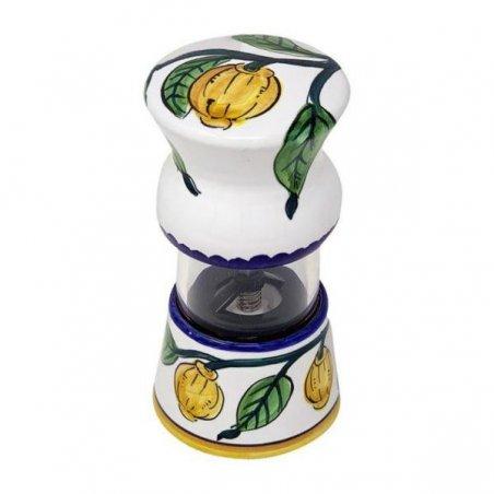 Macina pepe  in Ceramica Deruta - Limoni Semplici - 2 -