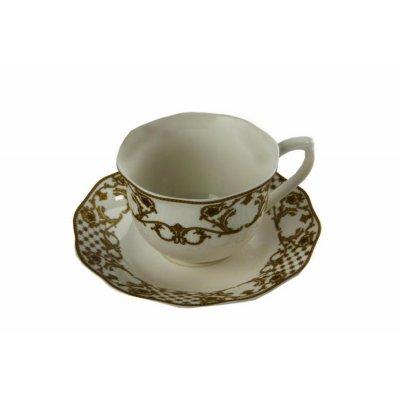 """Tea Set 6 pcs """"Chateaux de Megeve"""" - Royal Family Sheffield"""
