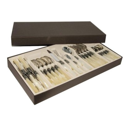 Rivadossi ivory cutlery gift box - 24pcs set - Exclusive Offer