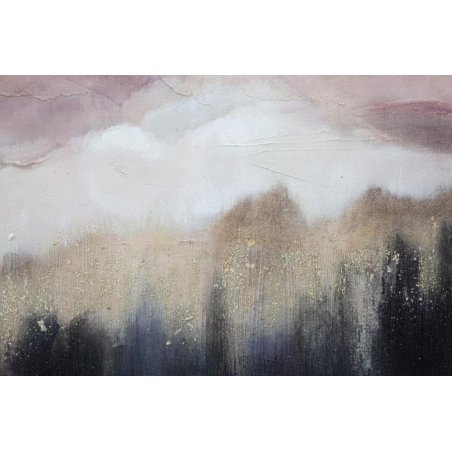 Pink Mountain Canvas Painting Cm 80X2,7X60 - 3