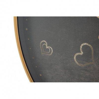 Orologio Da Muro Hearts Cm Ø 60X6 - 2 -