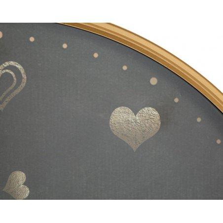 Orologio Da Muro Hearts Cm Ø 60X6 - 3 -