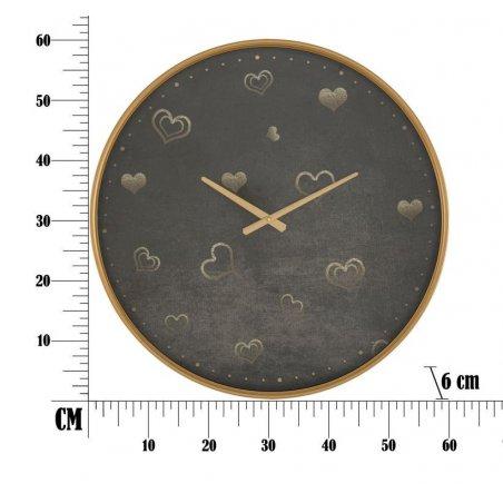 Orologio Da Muro Hearts Cm Ø 60X6 - 6 -
