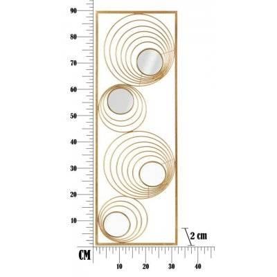 Iron Panel Rays Cm 32X2X90 - 6