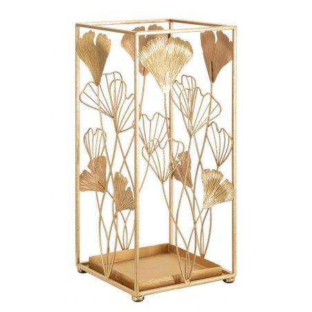 Porta Ombrelli Oro  Leaf Cm 22