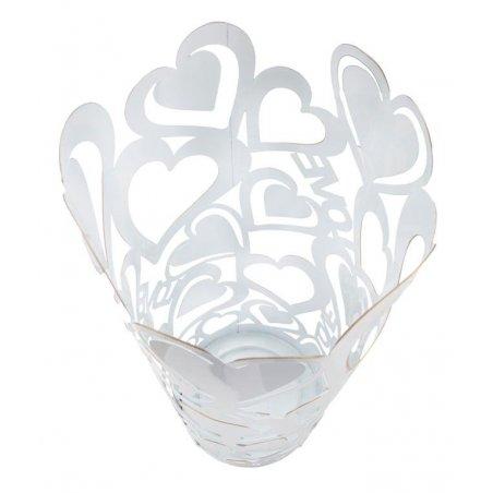 Porta Ombrelli White Heart Cm Ø 21X55 - 4 -