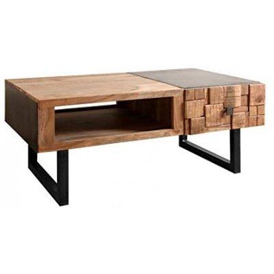 Tavolino Industrial Basso Officine55 - Mumbai - cm 110x60x43