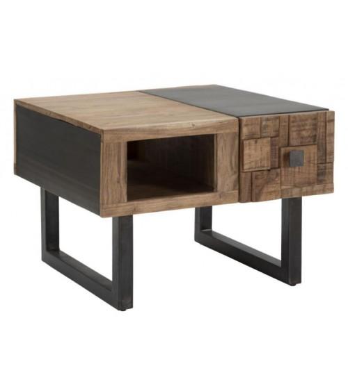 Industrial Coffee Table - Mumbai - Square cm 60x60x43