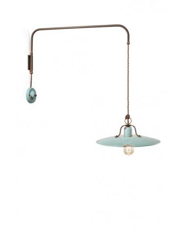 Ferroluce: Suspension Wall Lamp Diameter 40 cm Country