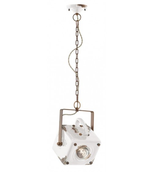 Ferroluce: Industrial Suspension Lamp Retrò Collection