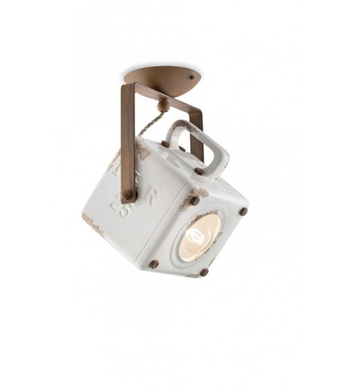 Ferroluce: Industrial Ceiling Lamp Retrò Collection