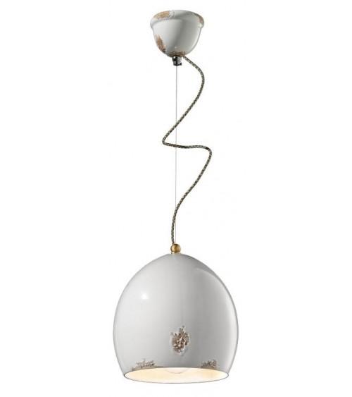 Ferroluce: Suspension Lamp H 32 cm Vague Retrò Collection