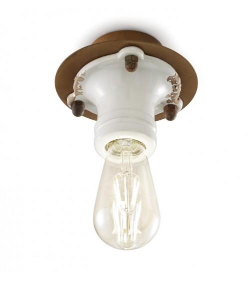 Ferroluce: Pipes Ceiling Lamp Retrò Collection