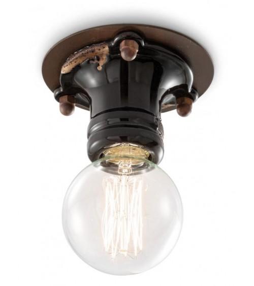 Ferroluce: Pipes ceiling lamp H 8 cm Retrò Collection
