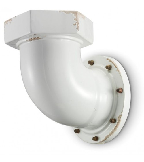 Industrial Naval Wall Lamp Sammlung Retrò - Ferroluce