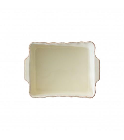 Pirofila Rettangolare 26.5 x 20 x 7 cm Osteria -Arcucci Avorio
