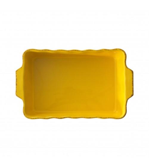 Pirofila Rettangolare 35 x 21 x 7 Osteria - Arcucci Giallo