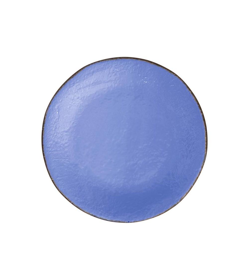 Ceramic Dinner Plate 26 cm - Set 6 Pcs - Preta