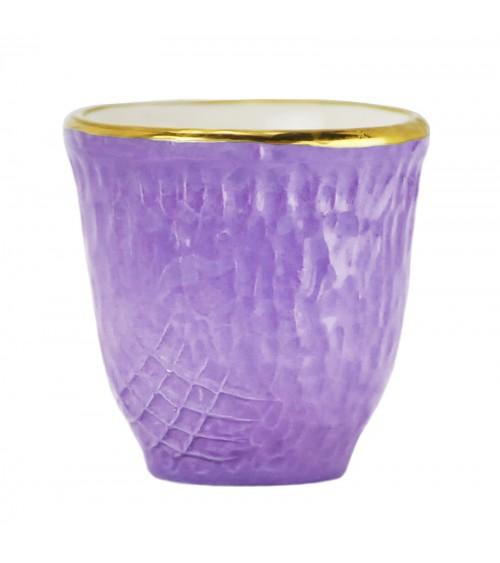 Pretino Coffee Ceramic - Set 6 Stück - Preta Oro - Arcucci
